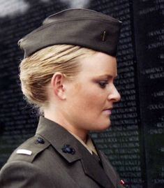 "Lt. Elle Helmer in ""The Invisible War"""