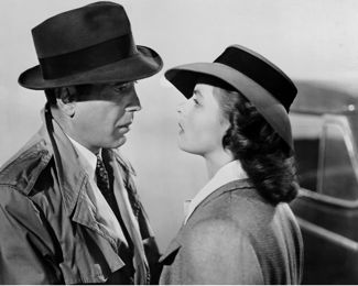 bogart and bergman in casablanca