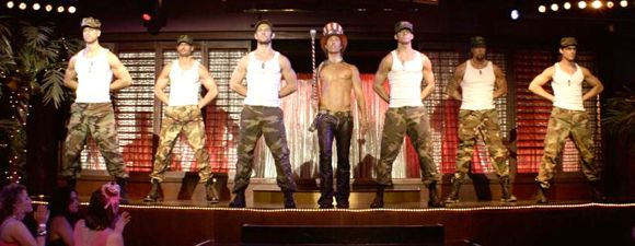 Magic Mike stripper movie