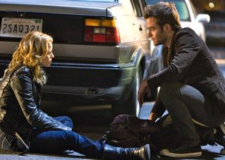 "Chris Pine and Elizabeth Banks in ""People Like Us"""