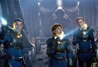 "Explorers in Ridley Scott's ""Prometheus"""