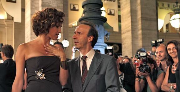 Penélope Cruz and Roberto Benigni in Woody Allen film