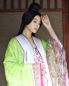 Fan Bingbing in Chen Kaige's film Sacrifice