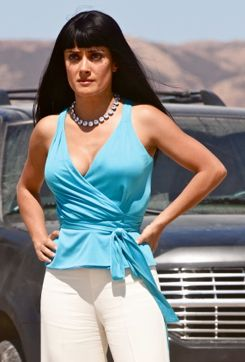 Salma Hayek in Oliver Stone's Savages