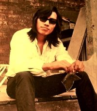 Muscian Rodriguez in 1970s in documentary Searching Sugar Man