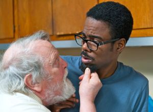 Chris Rock and Albert Delpy get acquainted in 2 Days New York