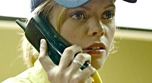 Dreama Walker takes a disturbing call in Compliance film