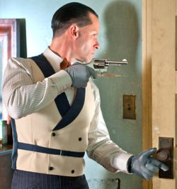 Lawless villain Guy Pearce opens door cautiously