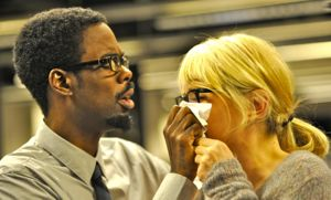 Chris Rock comforts Julie Delpy in 2 Days in New York