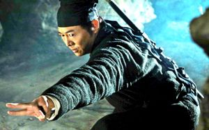Flying Swords Jet Li is poised for battle