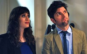 Bachelorette Lizzy Caplan meets Adam Scott once again