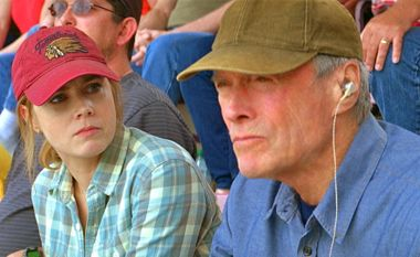 In Trouble With the Curve Clint Eastwood and Amy Adams play father-daughter