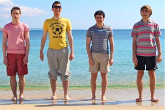 Inbetweeners sees British lads on holiday