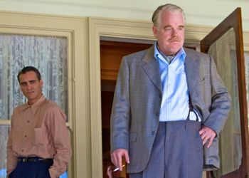 The Master's Joaquin Phoenix backs up Philip Seymour Hoffman