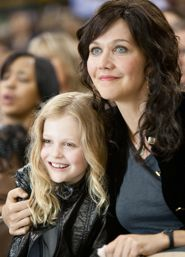 In Won't Back Down Maggie Gyllenhaal plays mother to Emily Alyn Lind