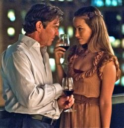 In The Words Dennis Quaid and Olivia Wilde flirt