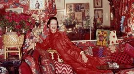 Diana Vreeland loved to pose for the camera
