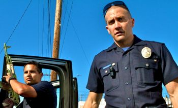 End of Watch has Michael Pena and Jake Gyllenhaal play cops