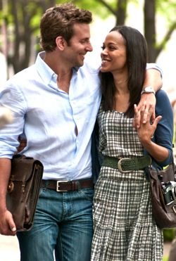 The Words' Bradley Cooper and Zoe Saldana stroll Paris