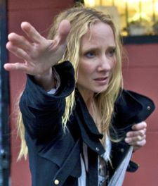 That's What She Said Anne Heche hails taxi