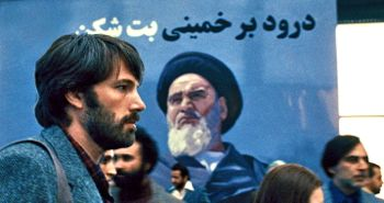 In Argo Ben Affleck's CIA agent arrives at Tehran airport
