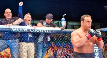 In Here Comes the Boom Kevin James enters the MMA ring