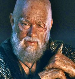 In Cloud Atlas Tom Hanks in old man makeup plays Zachry