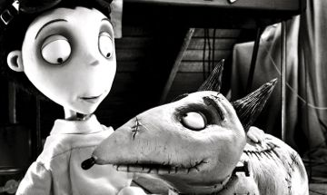 Frankenweenie's Victor adores his dog Sparky