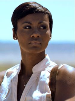 Middle of Nowhere's Emayatzy Corinealdi stands outside husband's prison