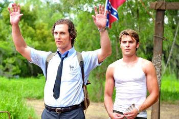 Paperboy's Matthew McConaughey and Zac Efron venture into a Florida swamp