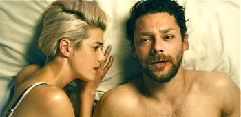Pusher sees Richard Coyle relax with  girlfriend Agyness Deyn