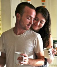 In Smashed Aaron Paul and Mary Elizabeth Winstead make breakfast