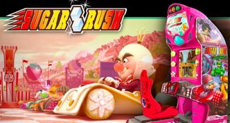 Wreck-It Ralph visits video game Sugar Rush