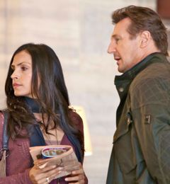 In Taken 2 Liam Neeson takes Famke Janssen sightseeing
