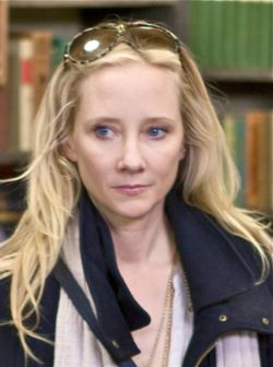 That's What She Said's Anne Heche in pensive moment