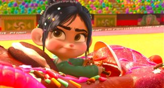 Let s do a quick count  Vanellope Von Schweetz Sugar Rush