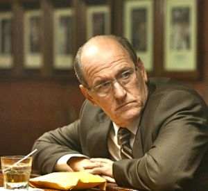 In Killing Them Softly Richard Jenkins' lawyer meets hitman in a bar