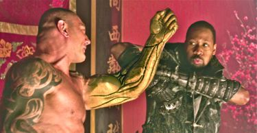 RZA battles David Bautista in Man With the Iron Fists
