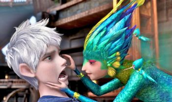 Rise of Guardians' Tooth addmires Jack Frost's perfect teeth