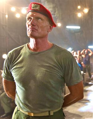 Dolph Lundgren stars in Universal Soldier as a false messiah