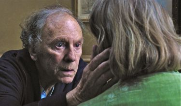 In Amour Jean-Louis Trintignant checks on wife's condition
