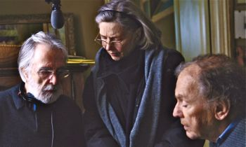 Michael Haneke on Amour set with stars Emmanuelle Riva and Jean-Louis Trintignant