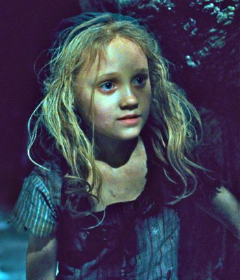 Les Miserables' waif Cosette longs for love