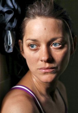 Rust and Bone's Marion Cotillard in pensive mood