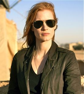 Zero Dark Thirty's Jessica Chastain plays a spy hunting terrorists