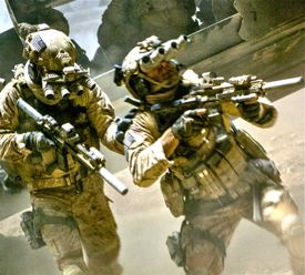 Zero Dark Forty's NavySEALs sneak into Osama bin Laden's compound