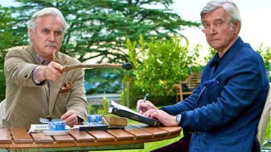 Quartet's Billy Connolly and Tom Courtenay argue about the past