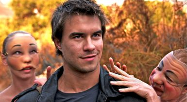 Rob Mayes encounters aggressive creatures