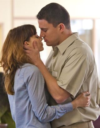 In Side Effects Rooney Mara and Channing Tatum embrace