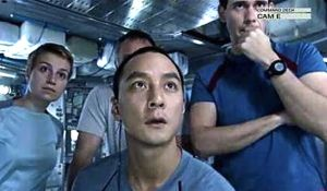 Europa Report's crew gazes at cam monitors